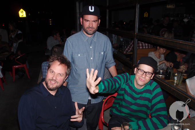 Artists Bill McMullen, Cody Hudson (@Struggle_Inc) and Eric Elms (@ElmsElms)