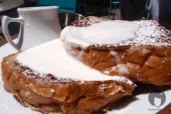 Banana French Toast @ Sunny Spot